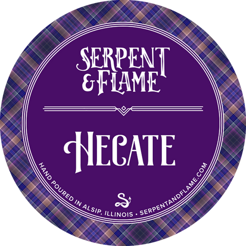 Hecate Candle, Yew Ligonberry Spice
