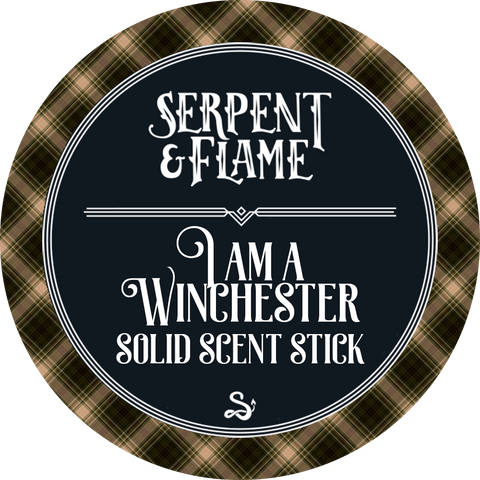 I Am a Winchester Solid Scent Stick