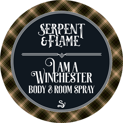I am a Winchester 4oz Spray, Gunsmoke Birch Marshmallow