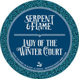 Winter Court Candle, Mint Elderberry Pine