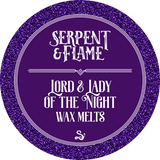 Lord & Lady of the Night Wax Melts, Citrus Sea Air Earl Grey