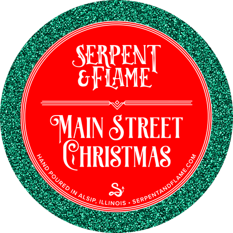 Main Street Christmas Candle, Gingerbread Vanilla