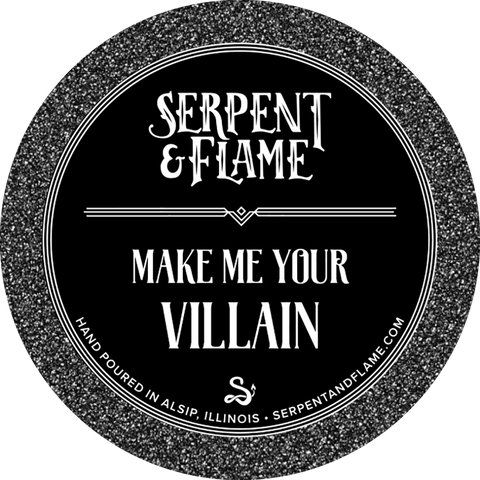 Make Me Your Villain Candle, Fir Spruce Berry