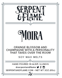 Moira Wax Melts, Orange Blossom Champagne
