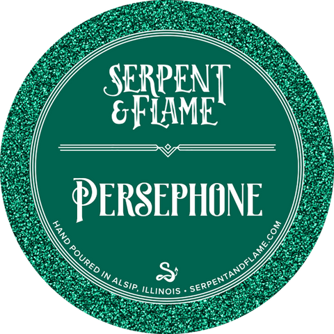 Persephone Candle, Pomegranate Mint