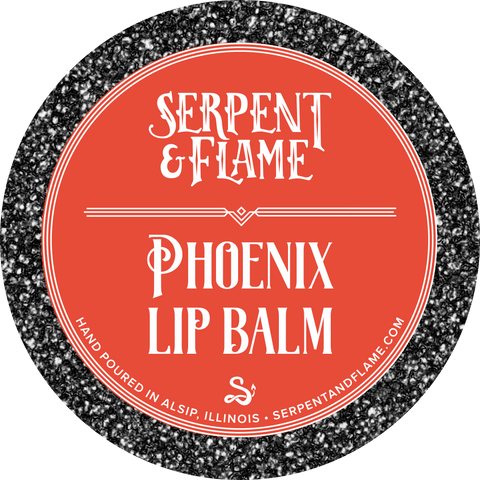 Phoenix, Peach Strawberry Lip Balm