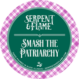 Smash the Patriarchy, Gin Elderberry Hibiscus