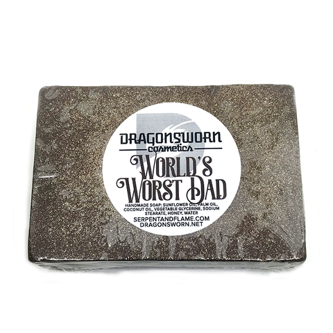 World's Worst Dad Soap