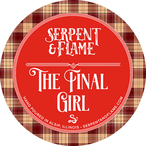 Final Girl Candle, Toffee Apple Marshmallow