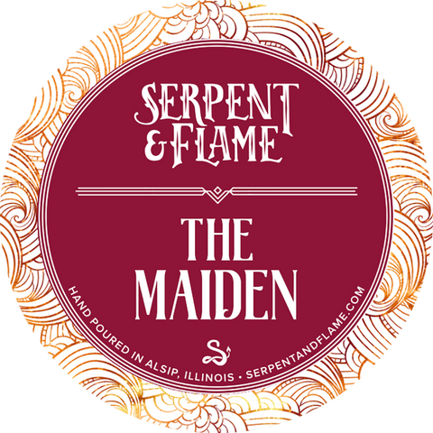 The Maiden Candle, Poppy Cherry Blossom