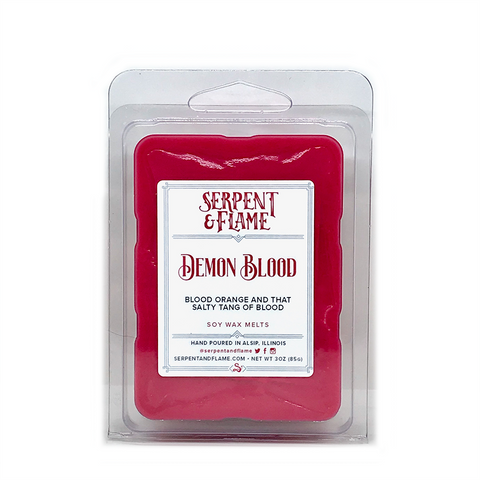 Demon Blood Wax Melts, Blood Orange