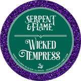 Wicked Temptress Candle, Apple Cedar Vanilla