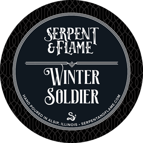 Winter Soldier Candle, Ozone Holly Berry Pine