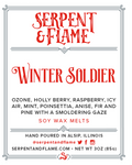 Winter Soldier Wax Melts, Ozone Holly Berry Pine