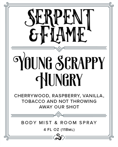 Young Scrappy Hungry 4oz Spray, Cherrywood Tobacco