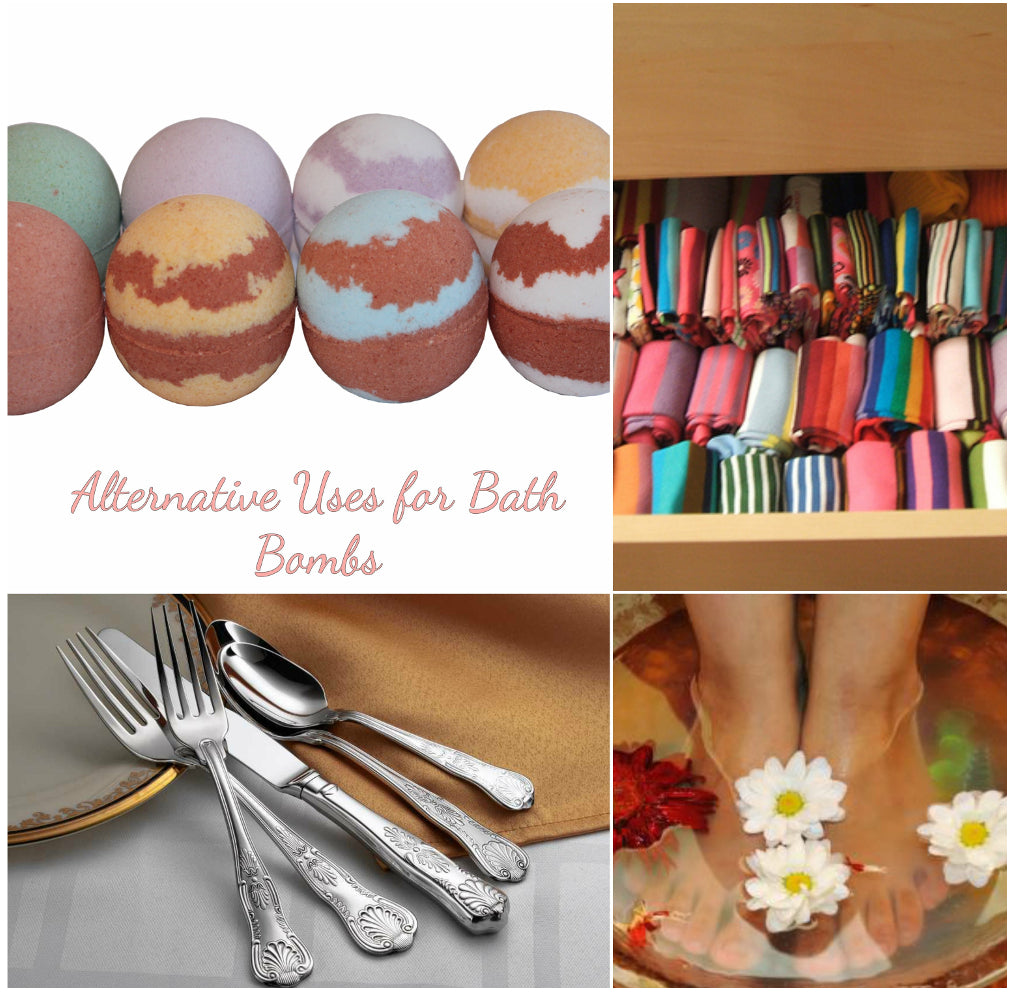 Seven Clever uses for Bath Bombs