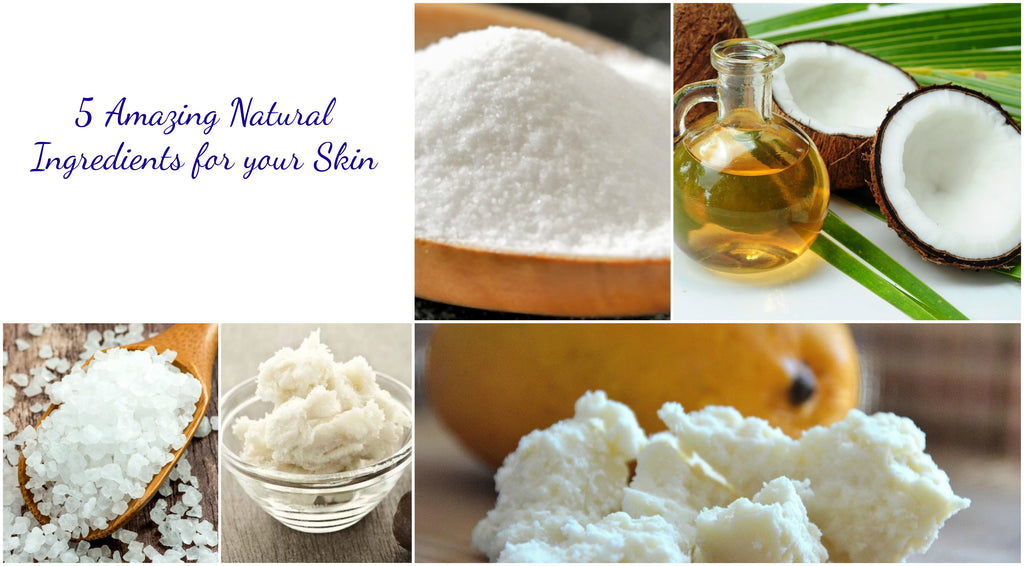 Amazing Skin Benefits of Sheat Butter, Mango Butter, Epsom Salt, Coconut Oil, and Baking Soda