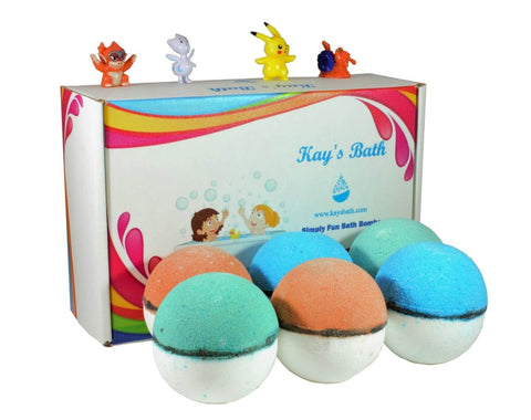 Pokemon Bath Bombs Gift Set