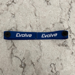 Evolve Headband with Face Mask Buttons
