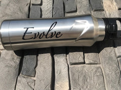 Evolve Stainless Steel Bottle - Silver