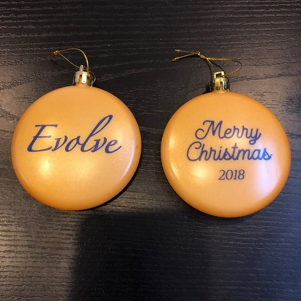 Evolve Ornament 2018