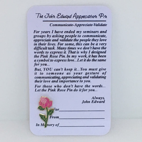 Rose Appreciation Pin