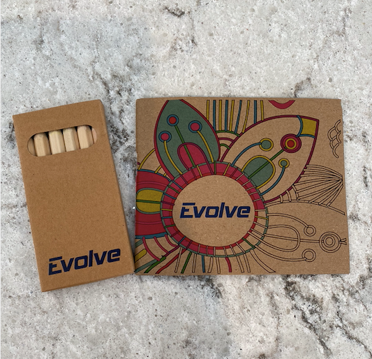 Evolve Mini Coloring Book