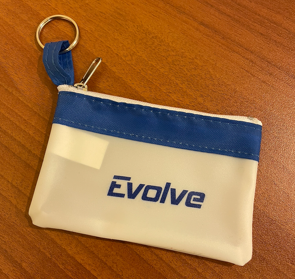 Evolve Zippered Coin Pouch