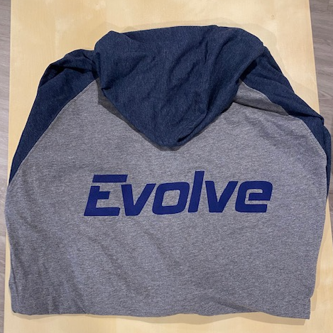 New Evolve Zip Up Hoodie