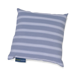 Cojín de exterior Stripe Blue White Grey