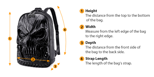 how to measure bag size
