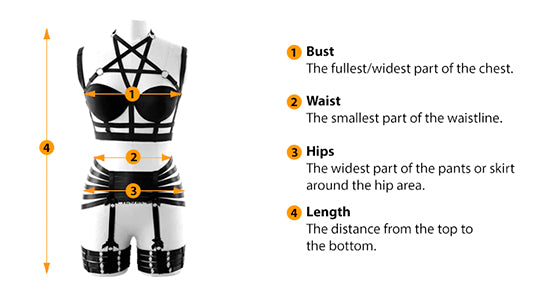 how to measure Body harness size