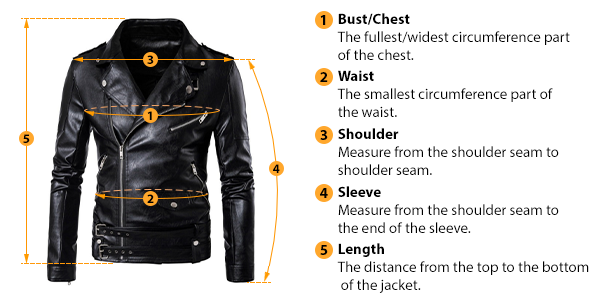 how to measure jacket size