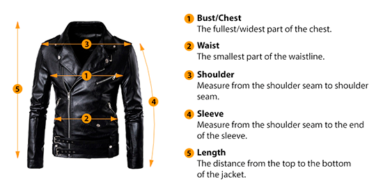 how to measure jackets size