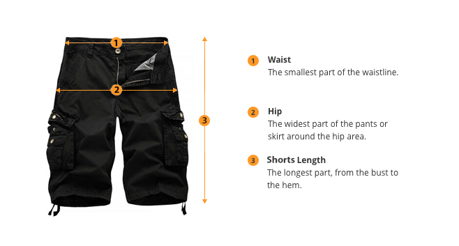 how to measure shorts size