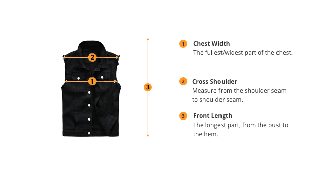how to measure vest size
