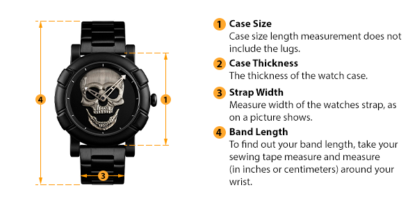 how to measure watch size