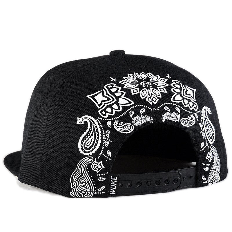 Rock Style Snapback Baseball Cap / Embroidery Cross Hat / Grunge Outfits - HARD'N'HEAVY