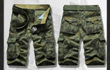 Rock Style Military Shorts / Urban style mens punk clothing - HARD'N'HEAVY