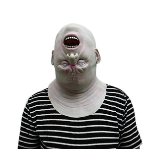 Adult Down Full Head Novelty Costume Mask / Scary Cosplay Costume Latex Head Mask for Halloween