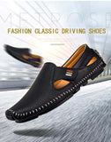 Air Walking Men's Loafers / Alternative Fashion Casual Shoes / Comfortable Non-slip Flats Moccasins - HARD'N'HEAVY