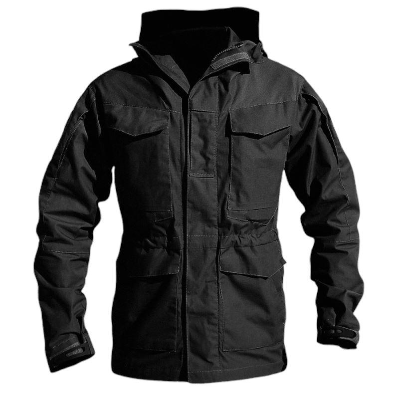 Military Jacket / Casual Tactical Windbreaker / Men Waterproof Flight Pilot Coat - HARD'N'HEAVY