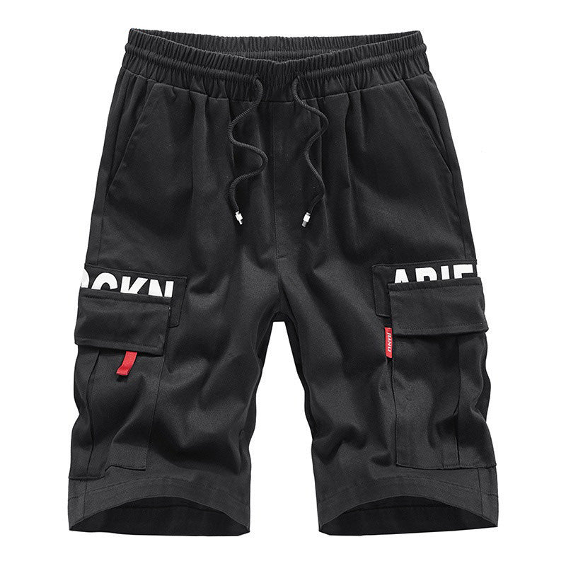 Cargo Short Shorts / Men Streetwear Tatical Joggers with Side Pockets / Alternative clothing - HARD'N'HEAVY