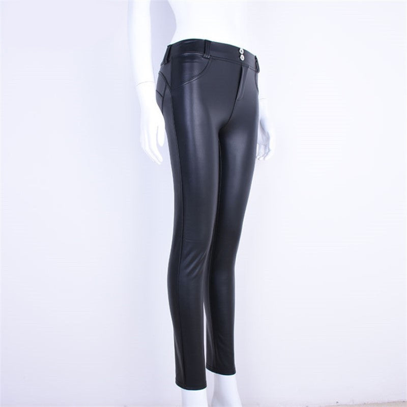 Elastic Sexy Skinny Pencil Pants / Women's Pants in Rock Style Fashion - HARD'N'HEAVY