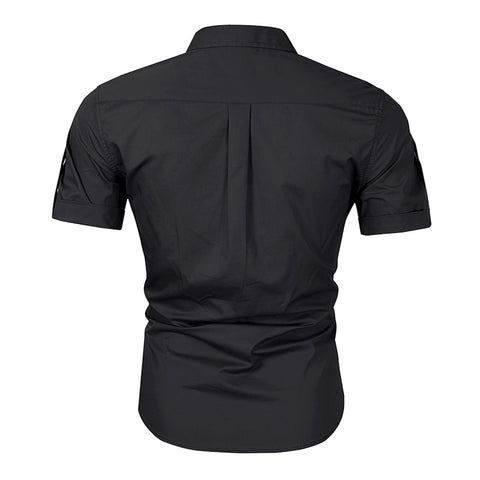 Europe And America Large Size Military Outdoor Short-Sleeved Casual Men's Shirt - HARD'N'HEAVY