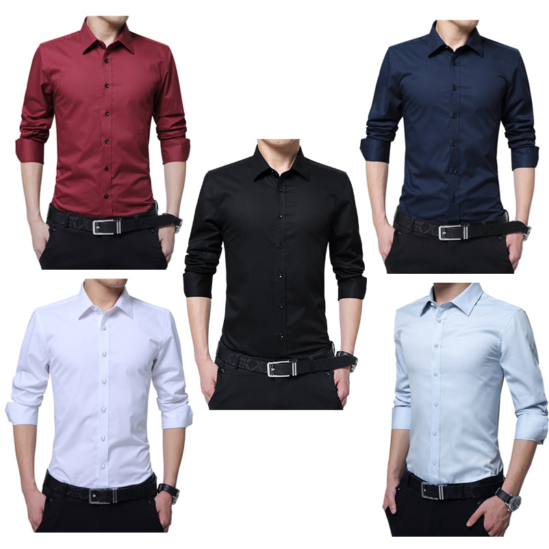 Gothic Style Men Blouse Shirt  with Long Sleeves / Alternative Fashion Clothing / Rock Clothing - HARD'N'HEAVY