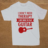 Guitar T-Shirt / Short Sleeve Vintage Rock t shirts / Mens Alternative Clothing - HARD'N'HEAVY