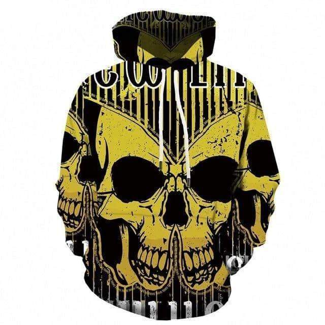 Hoodie Men Streetwear 3D Printed in Alternative Fashion Sweatshirt Animal Clothing Casual - HARD'N'HEAVY