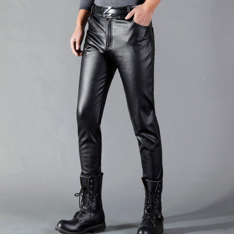 Leather Pants For Men / Spring & Summer Goth Pants / Alternative Fashion - HARD'N'HEAVY