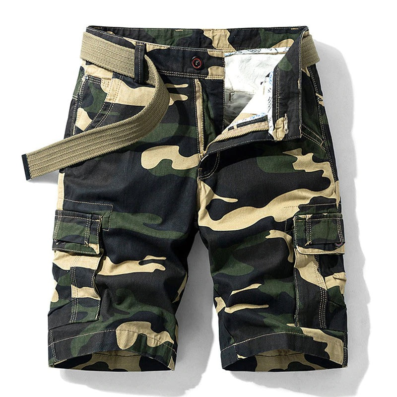 Men Military Cargo Shorts / Tactical Cotton Loose Casual Short Pants / Aesthetic clothes - HARD'N'HEAVY
